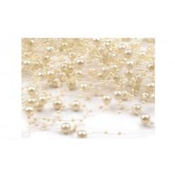 Perličky na silikonu - bílé