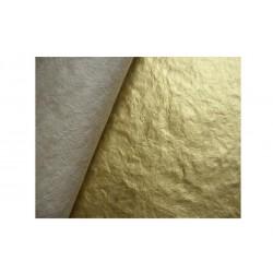 Scrapbooking - Thajský morušový papír - Zlatý