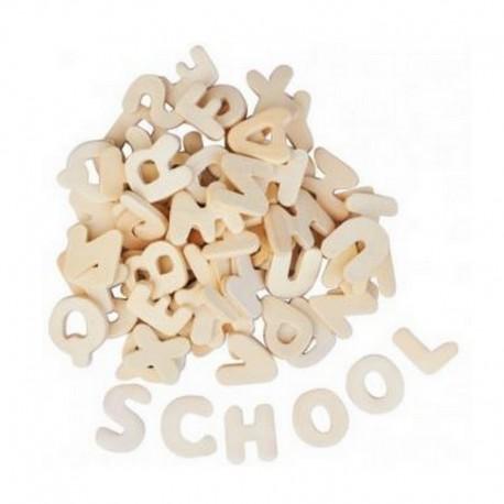 Scrapbooking - Dřevěná abeceda