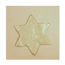 Hvězdičky stříbrné - velké