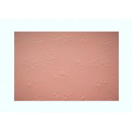 Vytlačované papíry - Srdíčka světle růžová