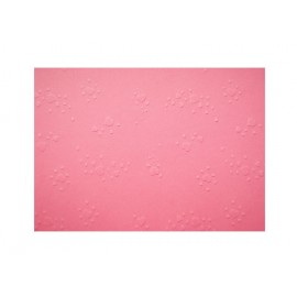 Vytlačované papíry - Srdíčka růžová