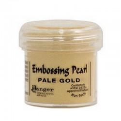 Scrapbooking - Embossing Pearl - Světle zlatá