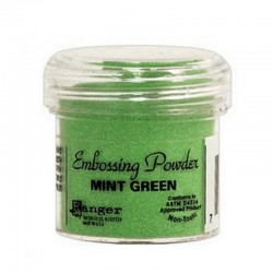 Scrapbooking - Embossing Powder - Svěží zelený
