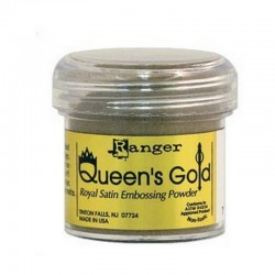 Scrapbooking - Embossing Powder - Queenś Gold