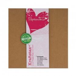 Scrapbooking - Sada kartonových papírů - Kraftstax 15x15cm