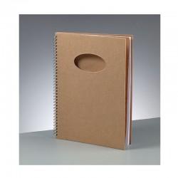 Scrapbooking - Blok A4 ovál