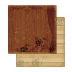 Scrapbook - Papír - Oboustranný papír - Nostalgia závěs