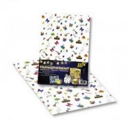 Scrapbooking - Veselé narozeniny - Poloprůhledné listy