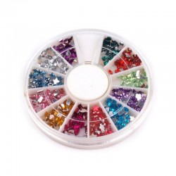 Cardmaking - Sada barevných kamínků