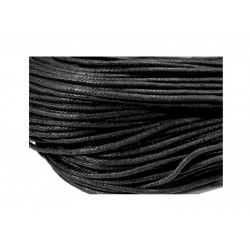 Scrap - Šňůrka voskovaná černá.