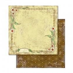 Scrapbooking - Papír - Oboustranný papír - Nostalgia Květinový rámeček