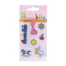 Razítka - Dítě - hračky - 7ks