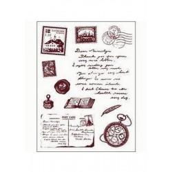 Razítka - Cestování - známky, pohlednice....