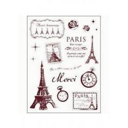 Razítka - Paříž - velká....