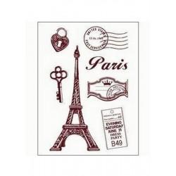 Razítka - Paříž - malá....