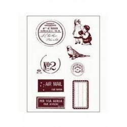 Razítka - Poštovní razítko, známky, štítky....