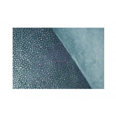Scrap - Nepálský papír - Lokta - Černý s trojúhelníčky