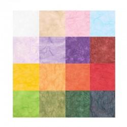 Scrap - Morušový papír - Unryu - modrá