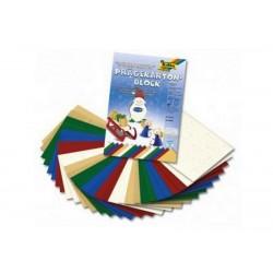 Sada vytlačovaných papírů ve Vánočních motivech