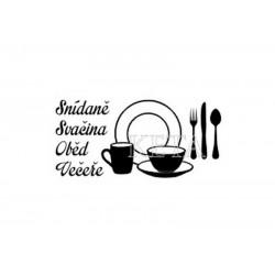 scrap - Snídaně, svačina, oběd, večeře