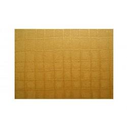 Matalízové papíry mřížka - zlatá