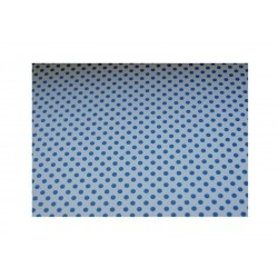 scrap - Papíry s puntíky - Bílo-modré