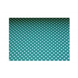 scrap - Papíry s puntíky - Zeleno-bílé