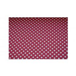 Papíry s puntíky - Červeno-bílé