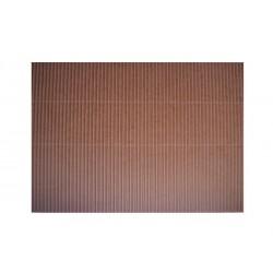 Scrapbook - Vlnitý papír - hnědý