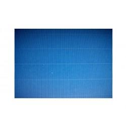 Scrapbook - Vlnitý papír - modrý