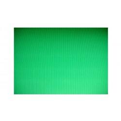 Scrapbook - Vlnitý papír - zelený