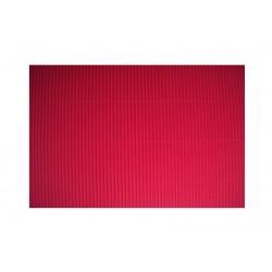 Scrapbook - Vlnitý papír - růžovo-červený