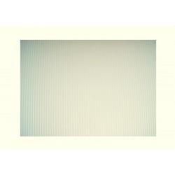 Scrapbook - Vlnitý papír - bílý