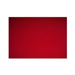 Scrapbook - Vlnitý papír - červený