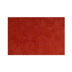 Matalízové papíry - Brokát - červený (bordó)