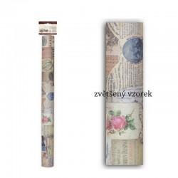 scrap - Samolepící textilní papír Madame Payraud