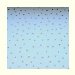 Barevné papíry s hvězdami - bílé