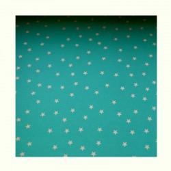 Barevné papíry s hvězdami - zelené
