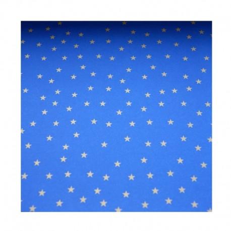 Barevné papíry s hvězdami - modré