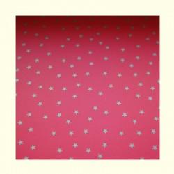 Barevné papíry s hvězdami - červené