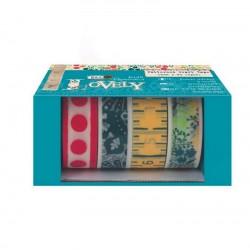 scrapbook - Samolepící papírové pásky 4x1m - Sew Lovely