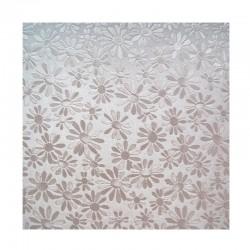 scrap - Matalízové papíry - Kytičky - světle fialový