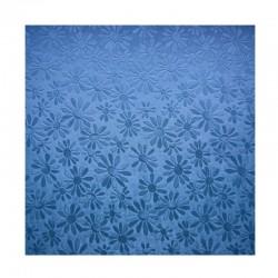 scrap - Matalízové papíry - Kytičky - modré