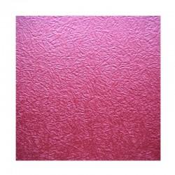 scrap - Matalízové papíry - Mačkaný papír - červený (bordó)