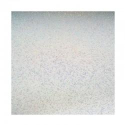 scrapbook - Papír se třpytkami - bílý