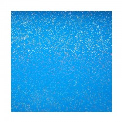 scrapbook - Papír se třpytkami - modrý