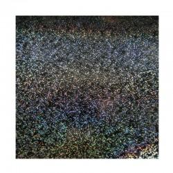 scrapbook - Papír se třpytkami - černý