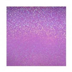 scrapbook - Papír se třpytkami - fialový