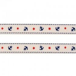 dekorační stuha - námořní